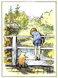 Winnie the Pooh and Christopher Robin